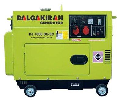дизельная электростанция dalgakiran dj 7000 dg-tec
