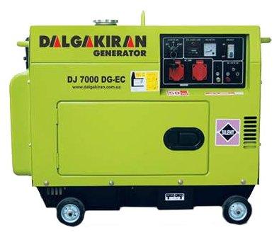 дизельная электростанция dalgakiran dj 7000 dg-tecs