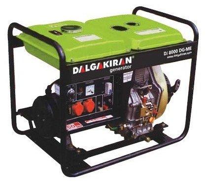 дизельная электростанция dalgakiran dj 8000 dg-te