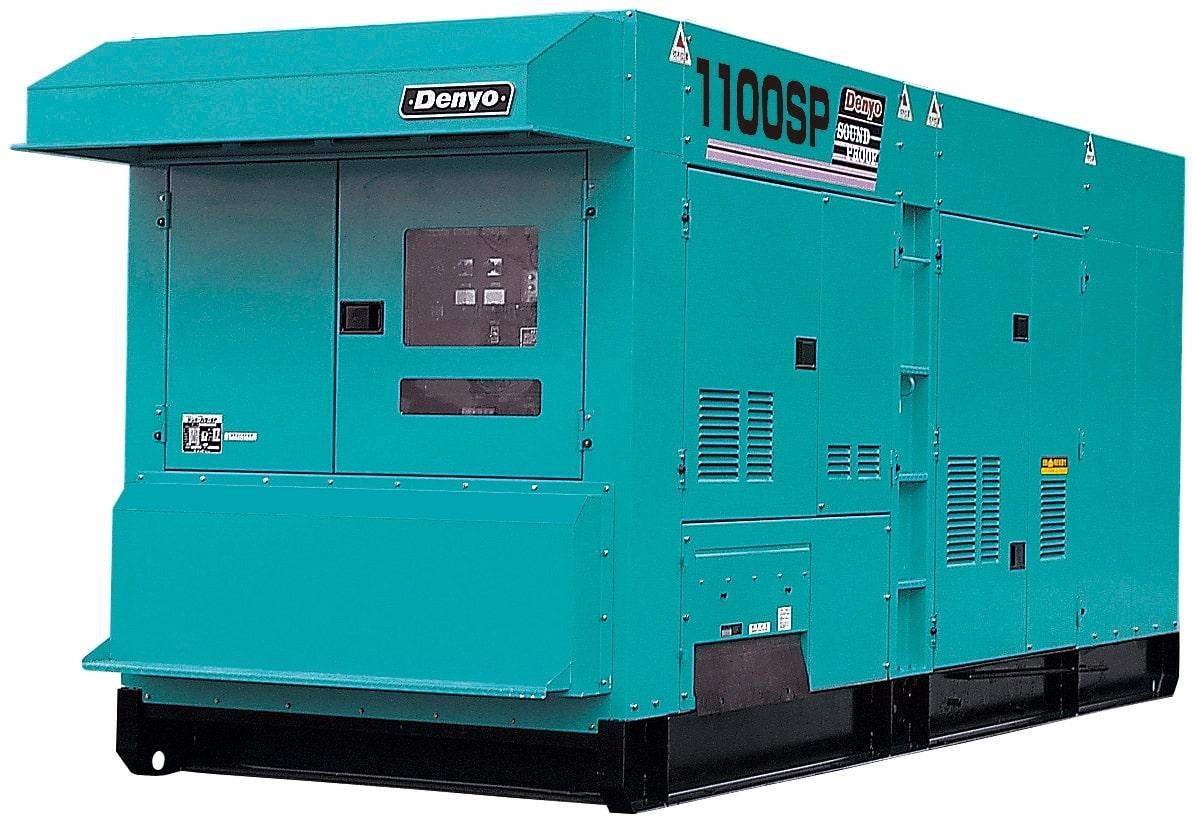 дизельная электростанция denyo dca-1100spm