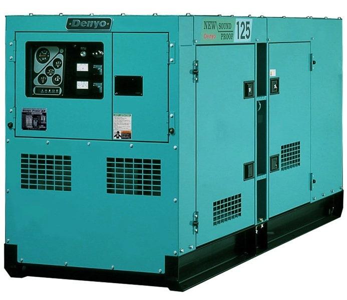 дизельная электростанция denyo dca-125esm