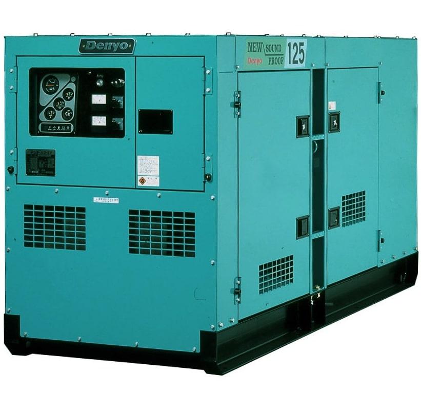 дизельная электростанция denyo dca-125spk3