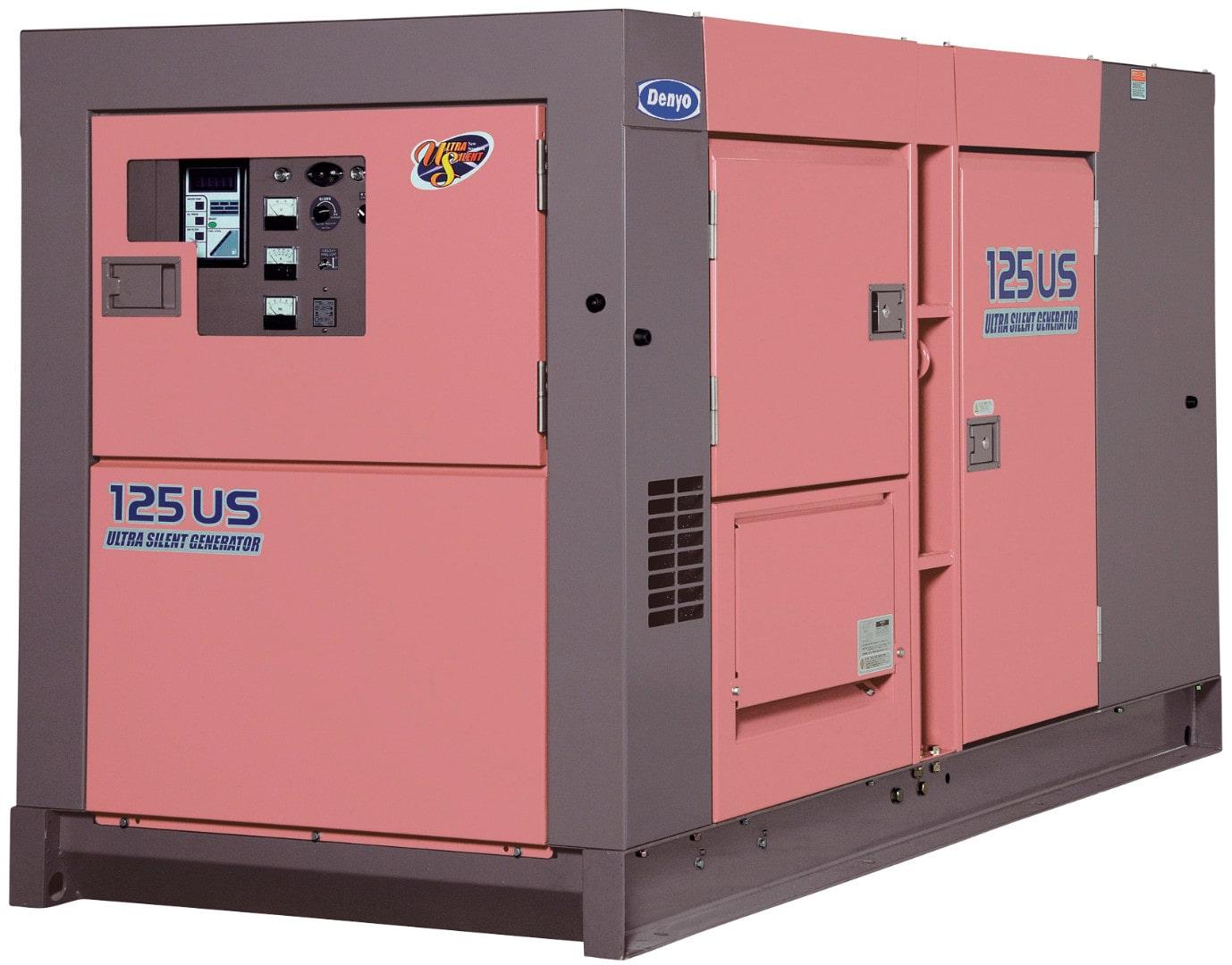 дизельная электростанция denyo dca-125ush