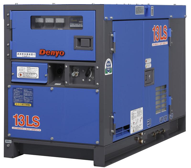 дизельная электростанция denyo dca-13lcy