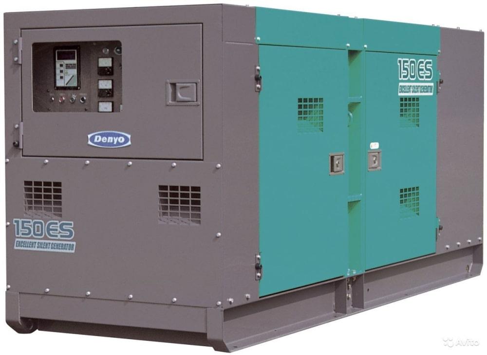 дизельная электростанция denyo dca-150esm