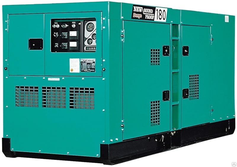 дизельная электростанция denyo dca-180spk3