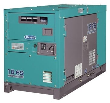 дизельная электростанция denyo dca-18esx
