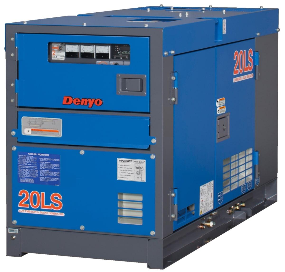 дизельная электростанция denyo dca-20lsk