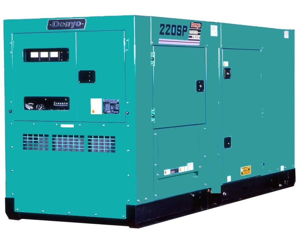 дизельная электростанция denyo dca-220spk3