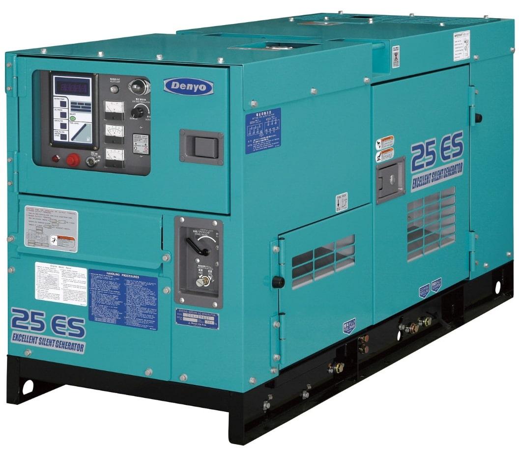 дизельная электростанция denyo dca-25esi
