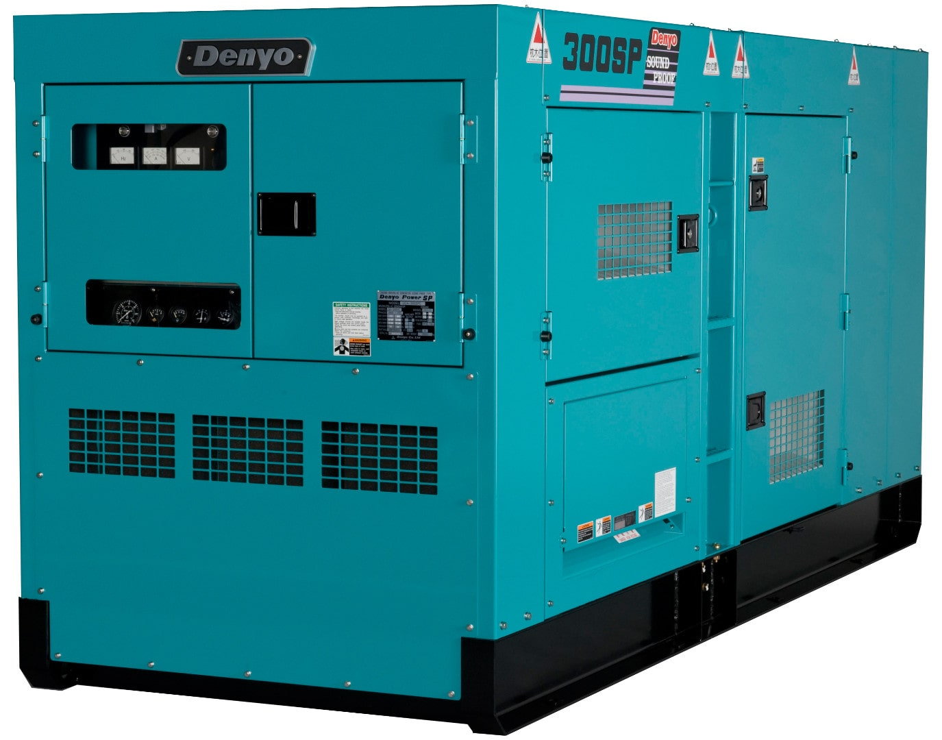дизельная электростанция denyo dca-300spk3