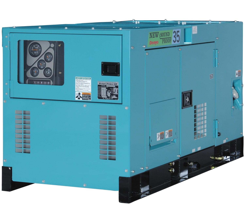 дизельная электростанция denyo dca-35spk