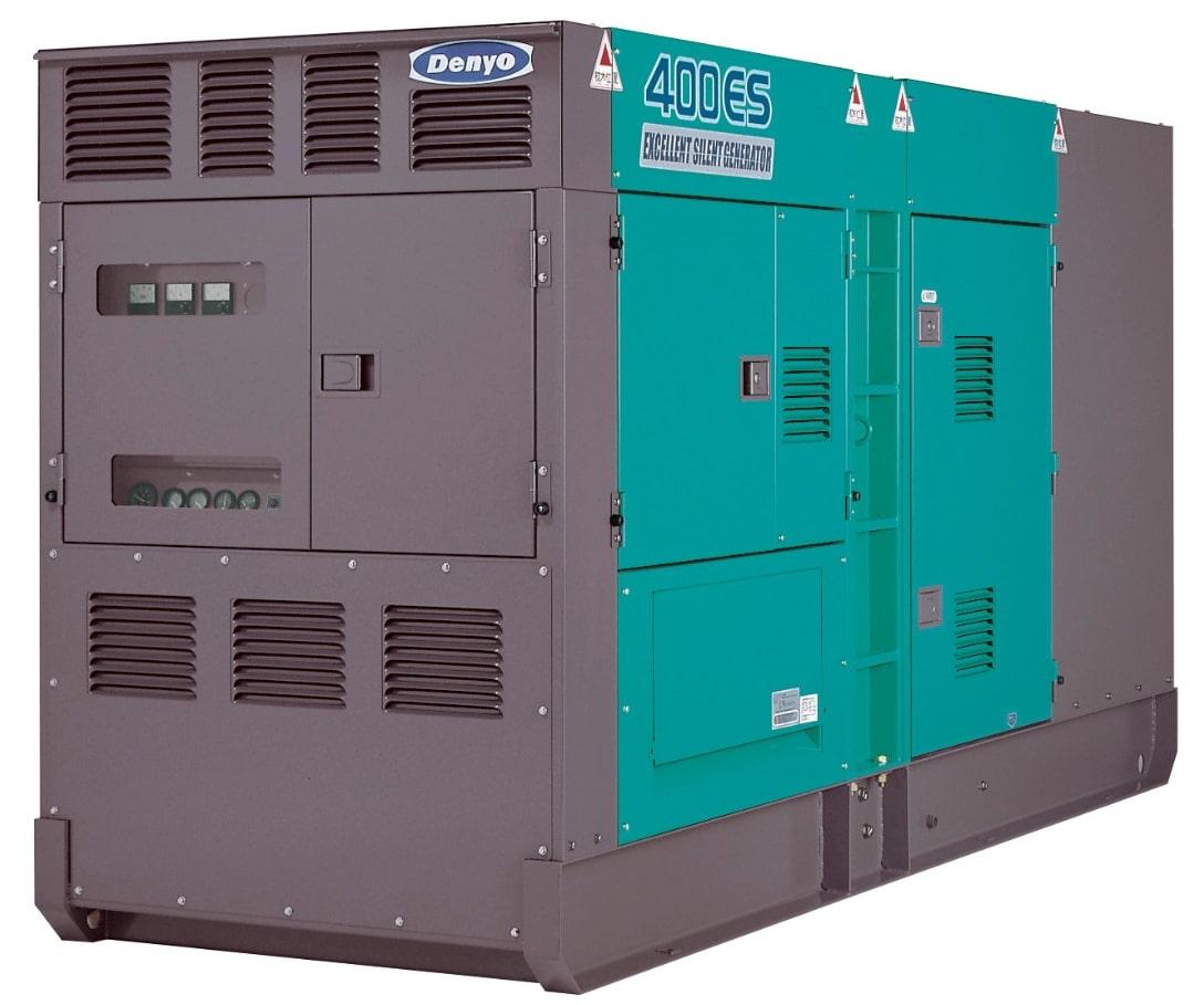 дизельная электростанция denyo dca-400esm