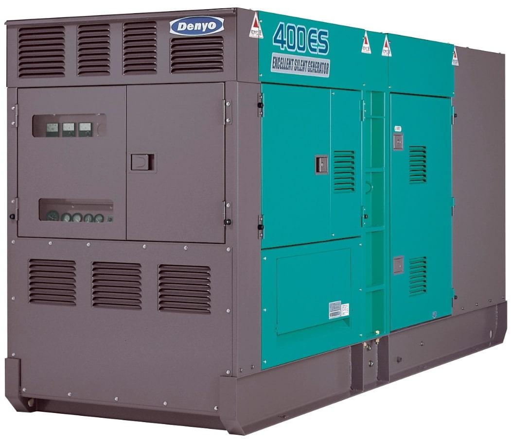 дизельная электростанция denyo dca-400esv