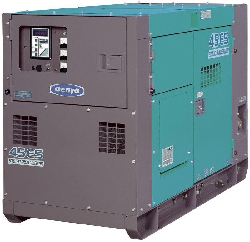 дизельная электростанция denyo dca-45esi