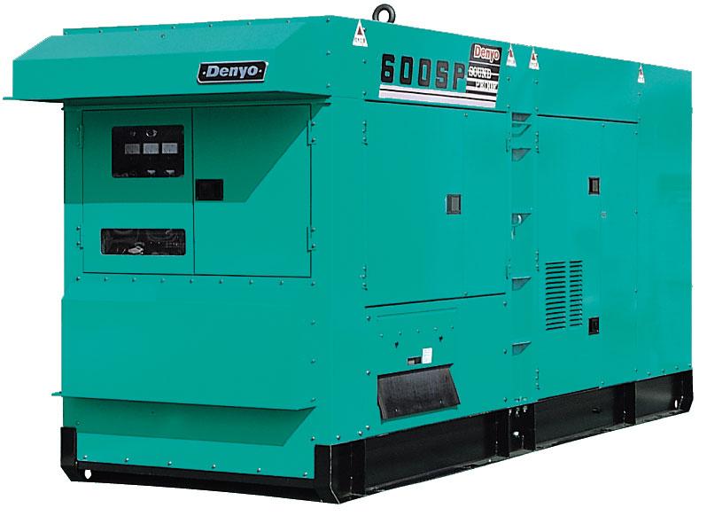 дизельная электростанция denyo dca-600spv