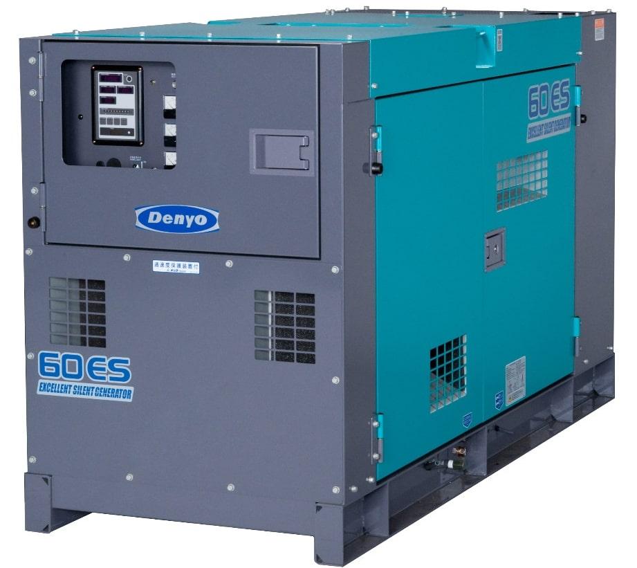 дизельная электростанция denyo dca-60esi2