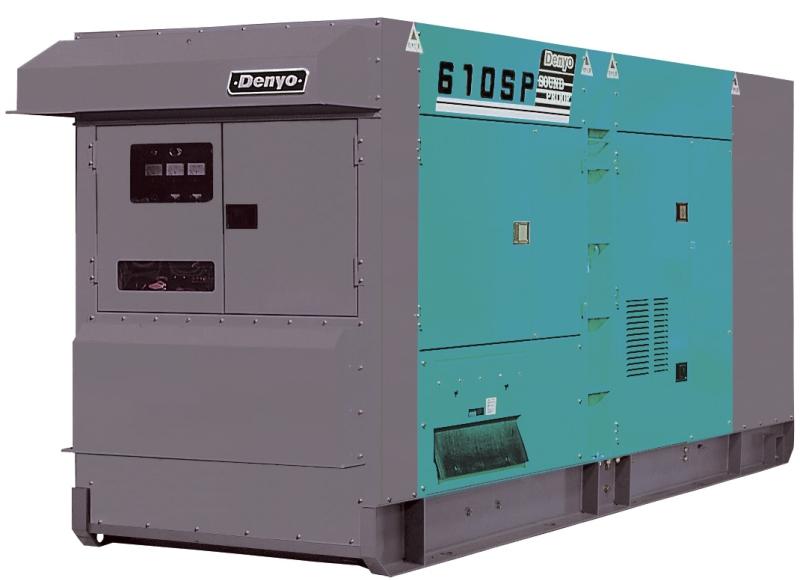 дизельная электростанция denyo dca-610spm