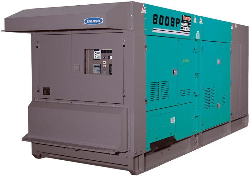 дизельная электростанция denyo dca-800spk