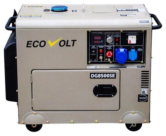 дизельная электростанция ecovolt dg6000se