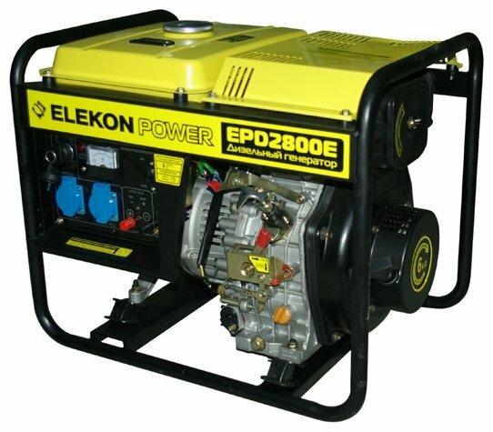 дизельная электростанция elekon power epd2800e
