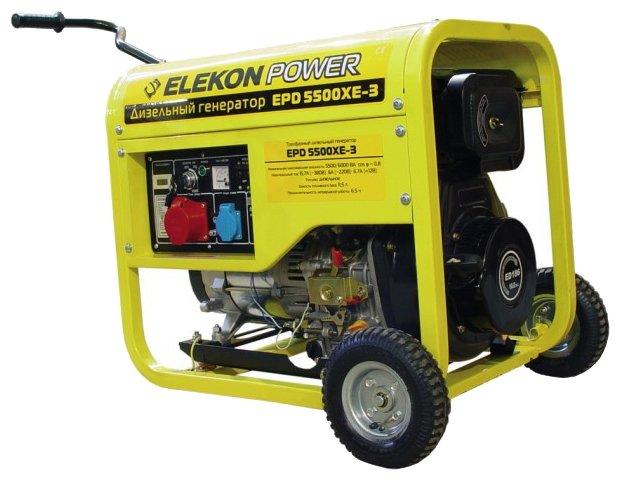 дизельная электростанция elekon power epd5500xe-3