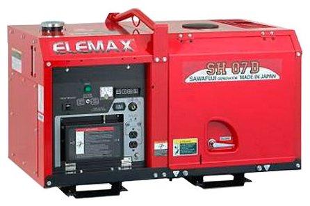 дизельная электростанция elemax sh07d-u