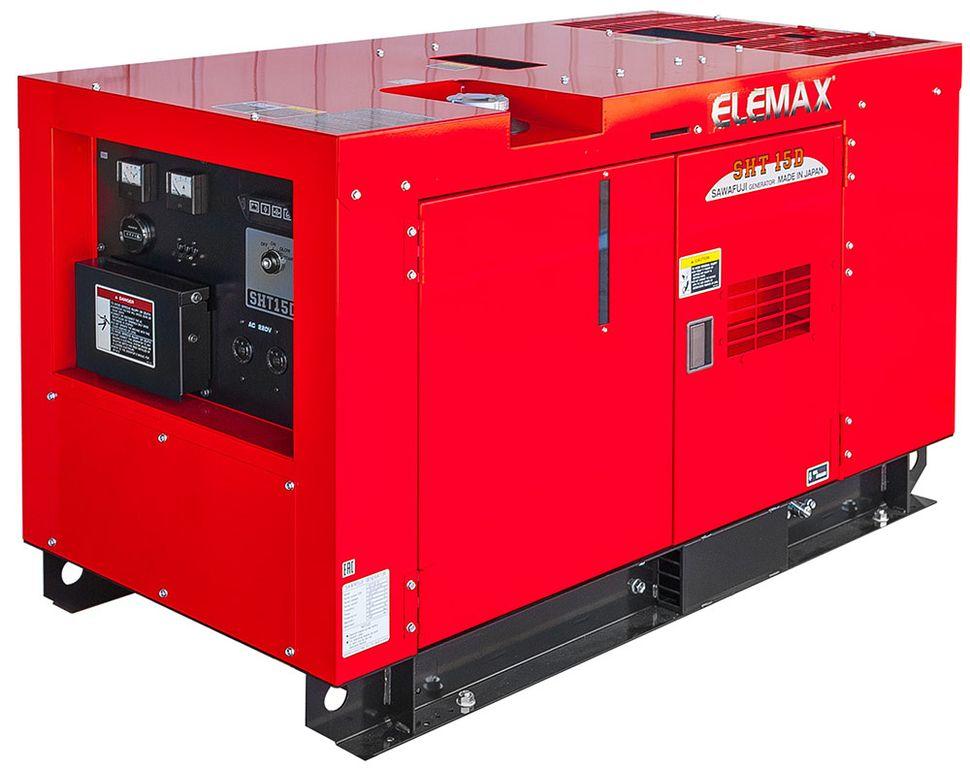 дизельная электростанция elemax sh 15d-r