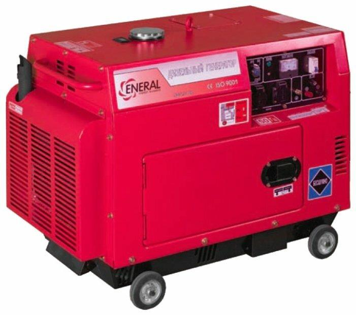 дизельная электростанция eneral гд3-4.5-1 ск