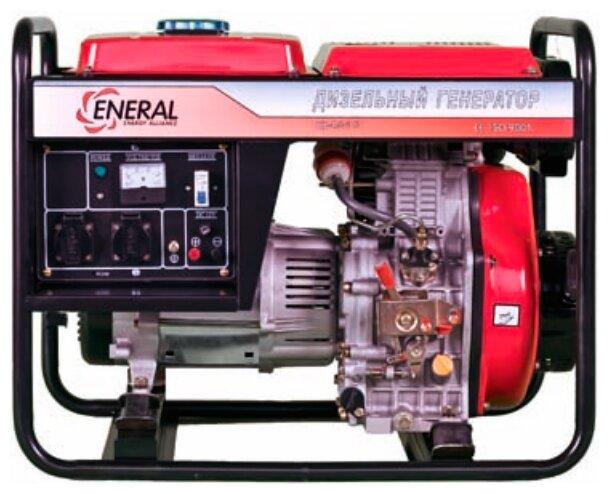 дизельная электростанция eneral гд-4.5-3 б