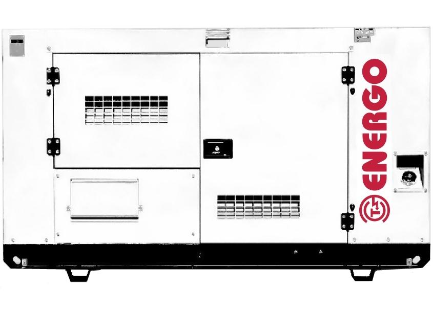 дизельная электростанция energo ad25-230-s