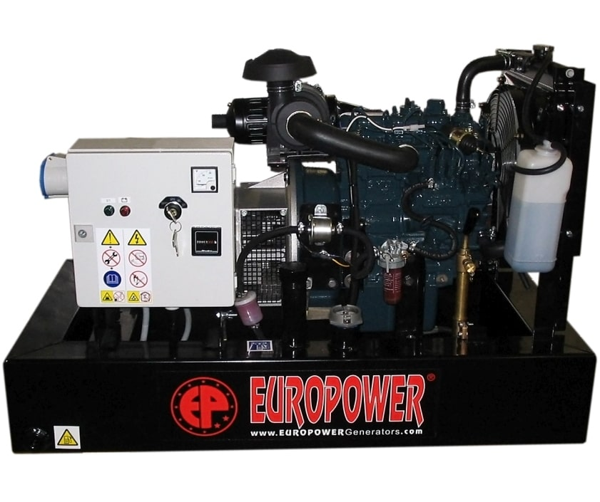 дизельная электростанция europower ep 123 de