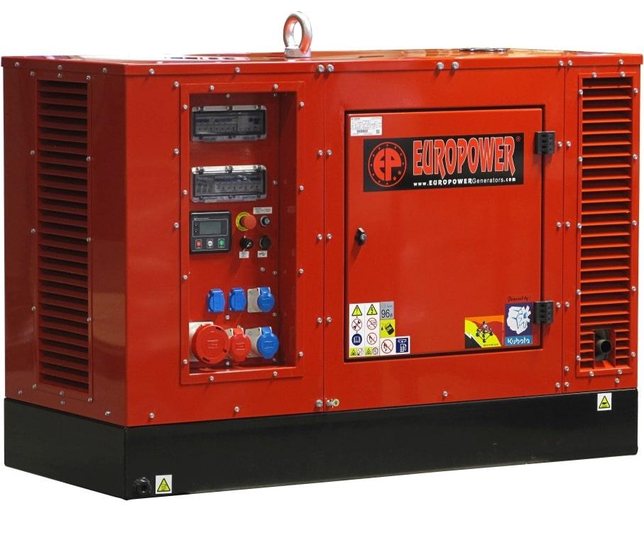 дизельная электростанция europower eps 333 tde