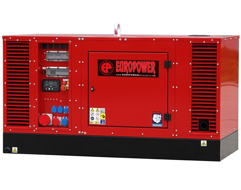 дизельная электростанция europower eps 34 tde