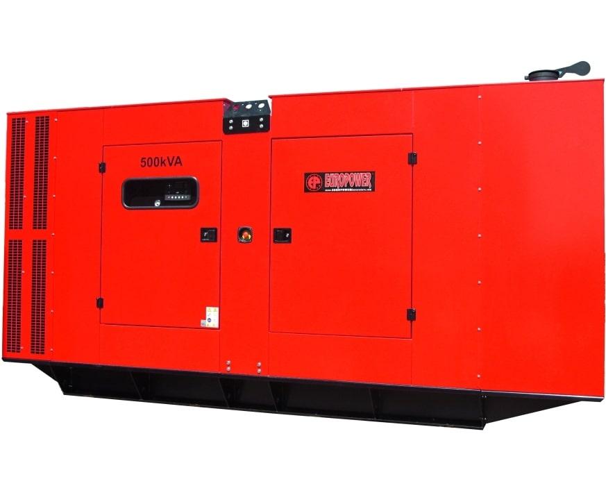 дизельная электростанция europower eps 500 tde