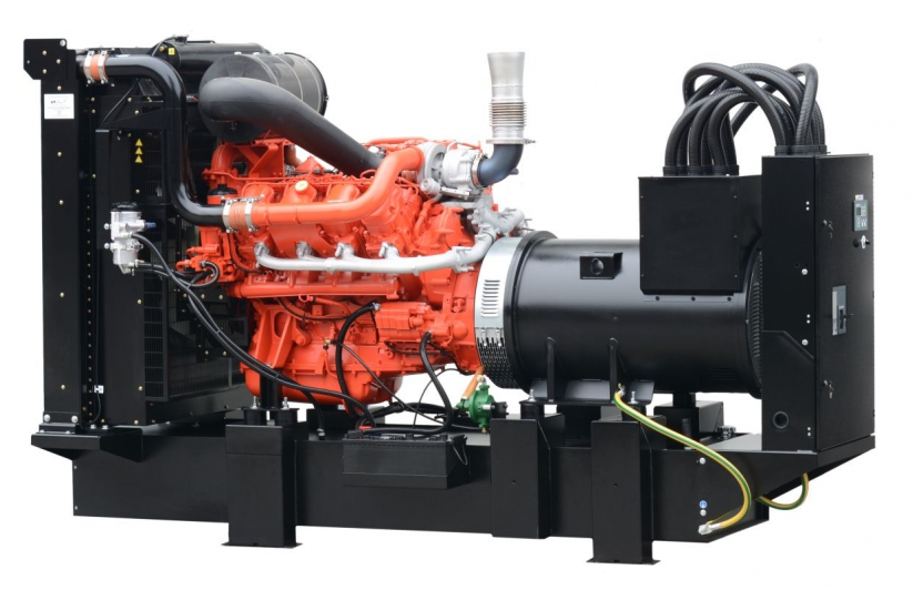 дизельная электростанция fogo fdf 650 ss