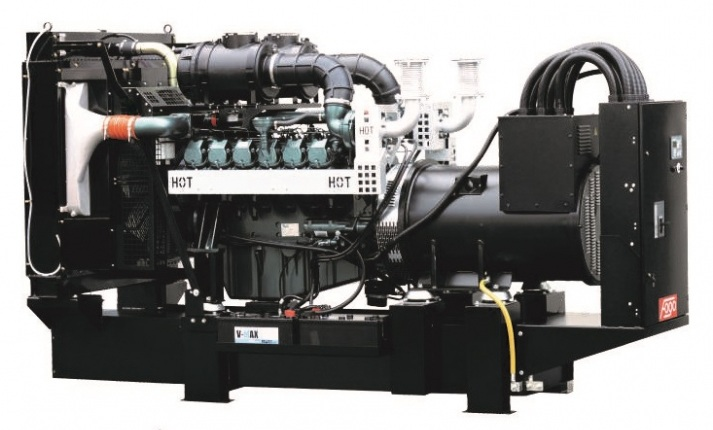 дизельная электростанция fogo fdf 750 ds