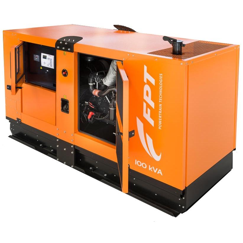 дизельная электростанция fpt gs nef80 n