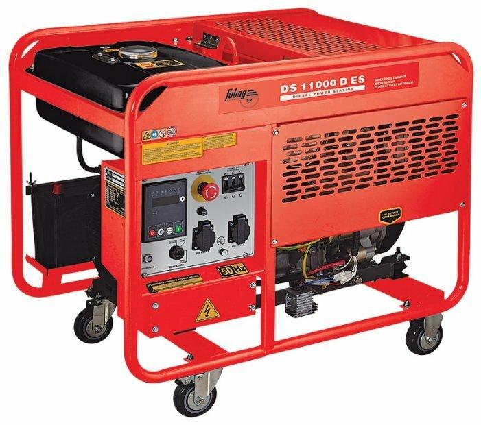 дизельная электростанция fubag ds 11000 d es