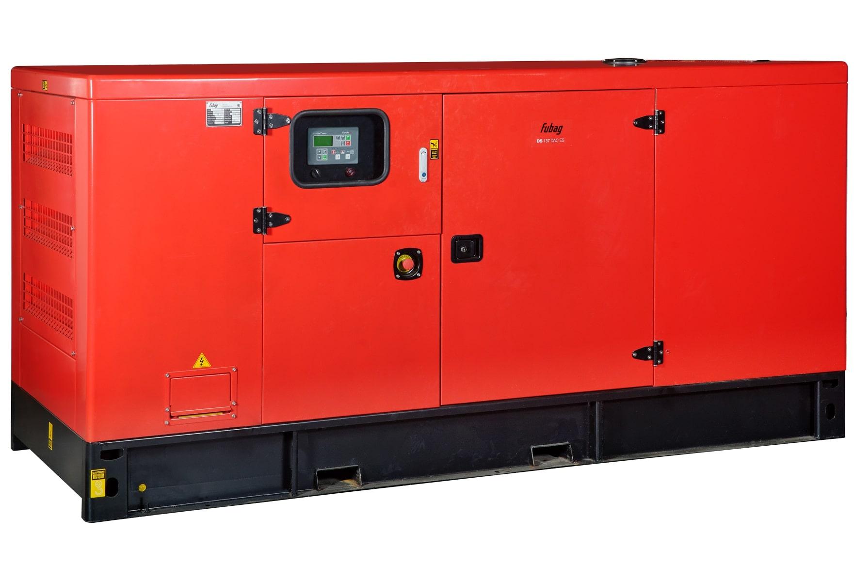 дизельная электростанция fubag ds 137 dac es