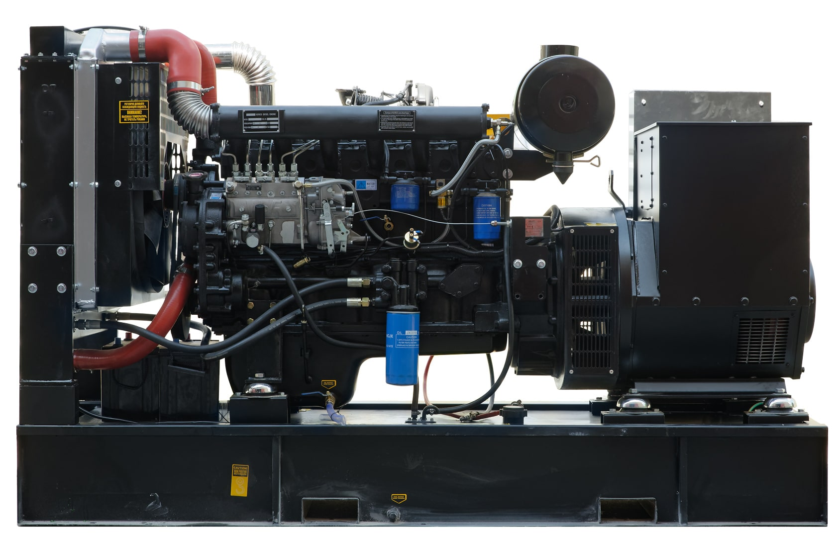дизельная электростанция fubag ds 137 da es