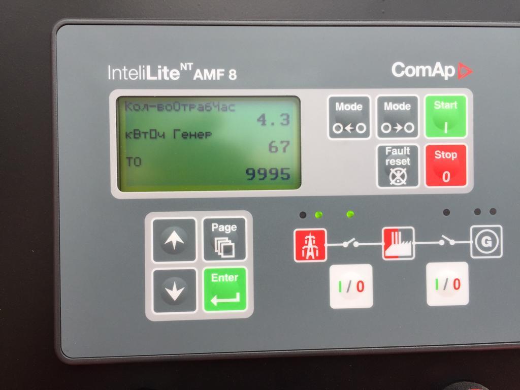 контроллер comap il-nt amf 8