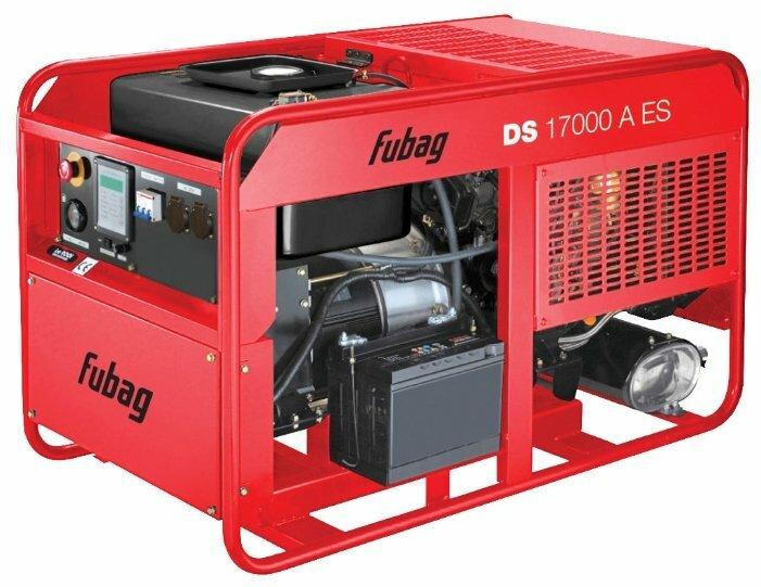 дизельная электростанция fubag ds 17000 a es