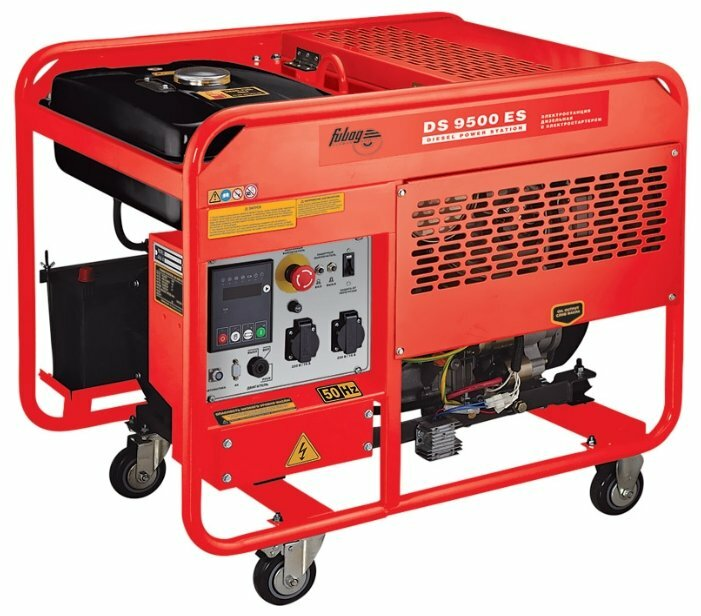 дизельная электростанция fubag ds 9500 es