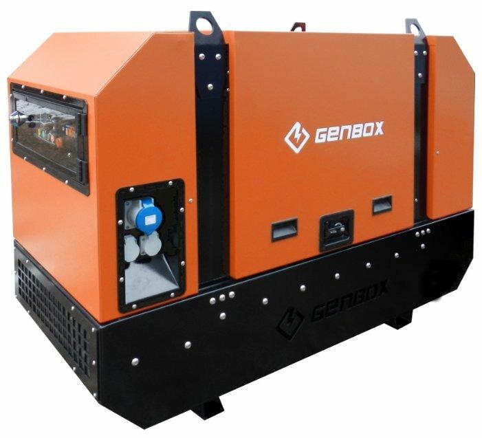 дизельная электростанция genbox kbt11m-ss