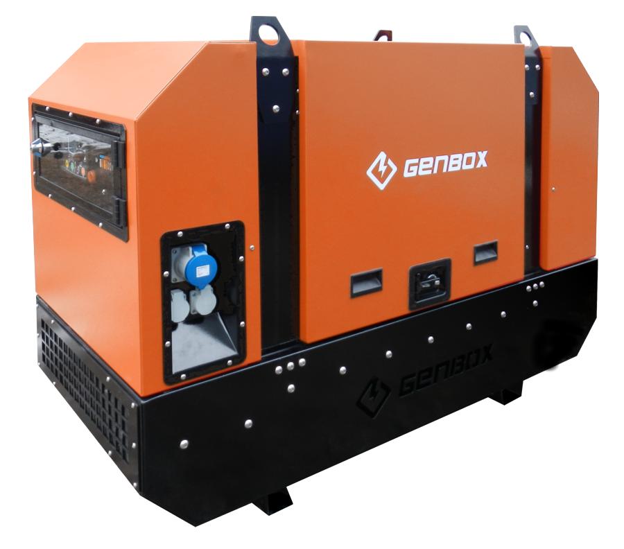 дизельная электростанция genbox kbt16t-s