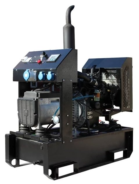 дизельная электростанция genbox kbt25t-3000