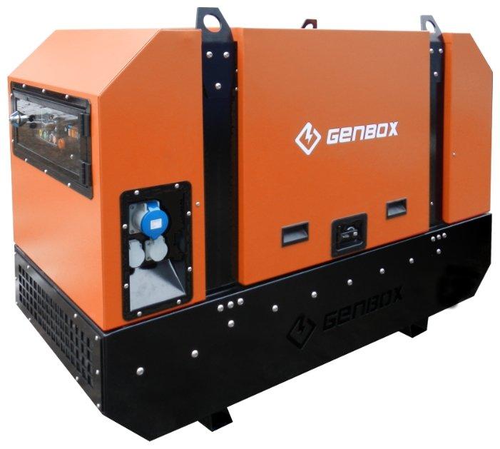 дизельная электростанция genbox kbt25t-s-3000
