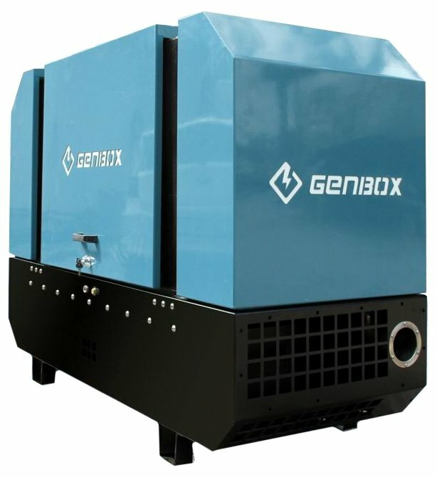 дизельная электростанция genbox mi13ts