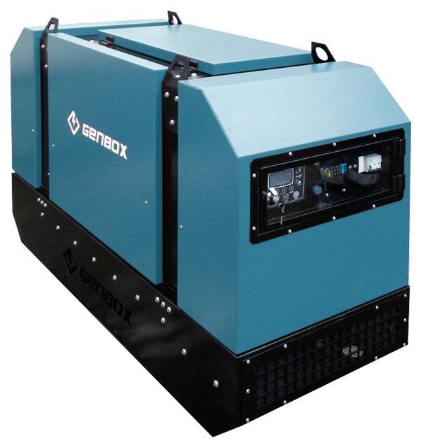 дизельная электростанция genbox mi13t-ss